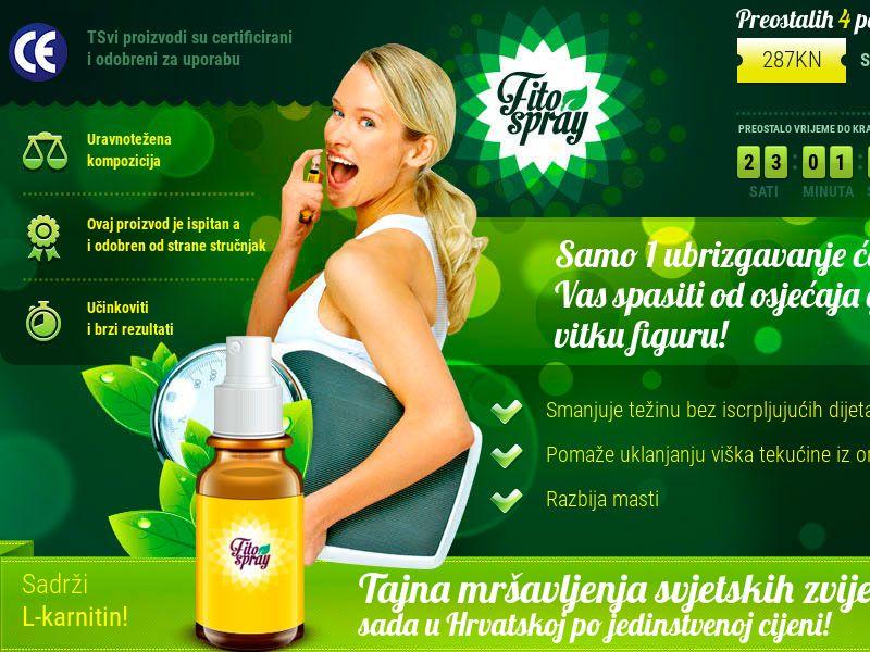 Fitospray HR - weight loss spray