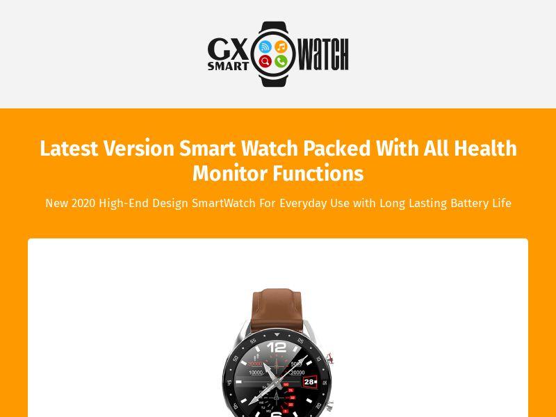 12333) [WEB+WAP] GX SmartWatch - WW - CPS