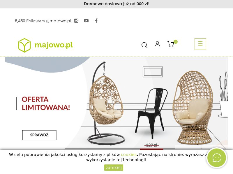 Majowo - PL (PL), [CPS], House and Garden, Garden, Building, Sell, shop, gift
