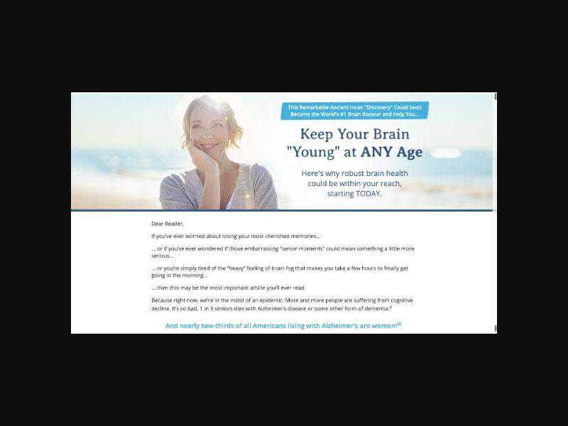 Ageless Brain CPS (US)