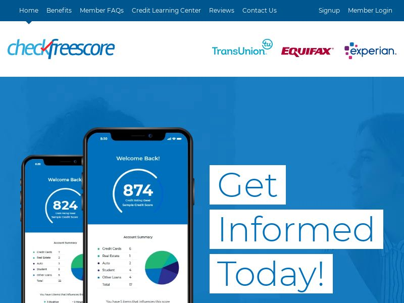 Credit Report - CheckFreeScore (US)