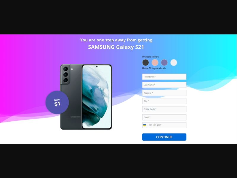 WAP WEB 100Hades OrangeViral - Samsung S21 V5 CC submit / US