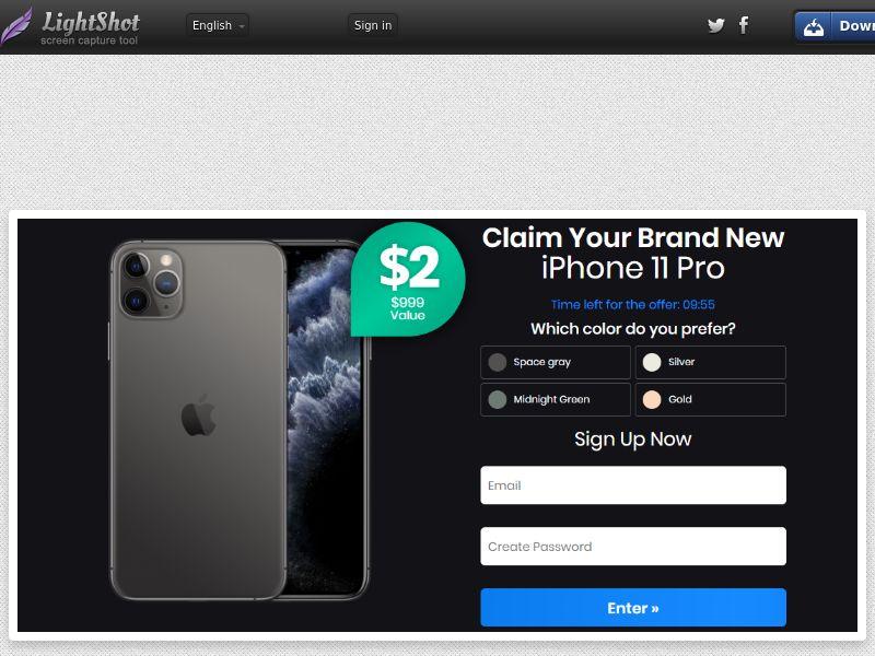 Phone 11 Pro - Color Choose Black CC - US