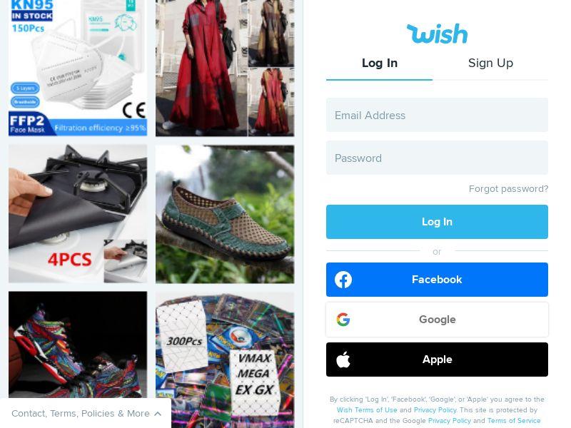 Wish.com CPS - Worldwide