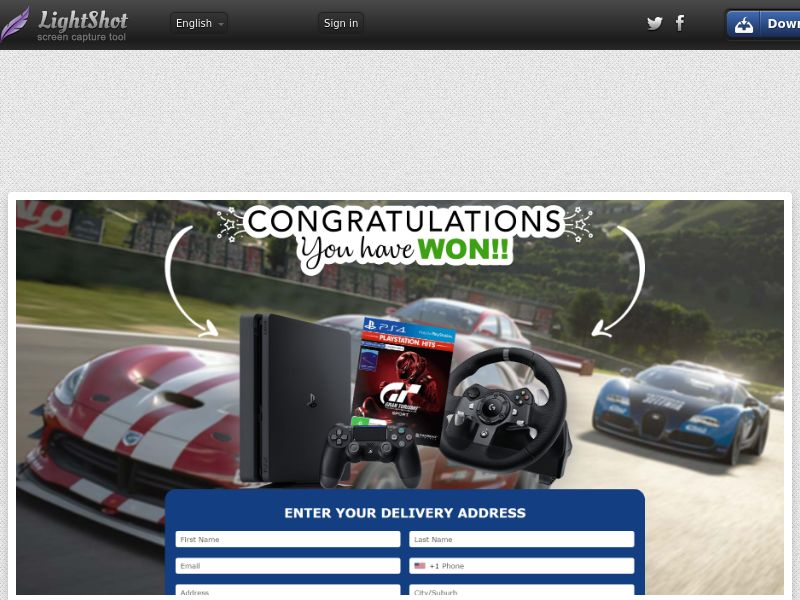 AbsoluteWinner - Playstation 4 (Gran Turismo Sport Pack) (US) (Trial) (Personal Approval)