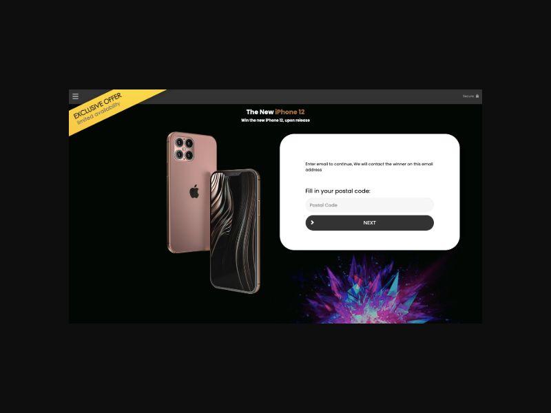 YOUSWEEPS Win an iPhone 12 (UK)