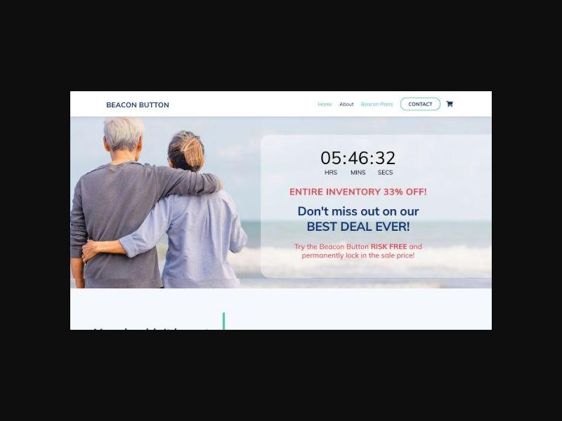 Beacon Button - Medical Alert Device (US)