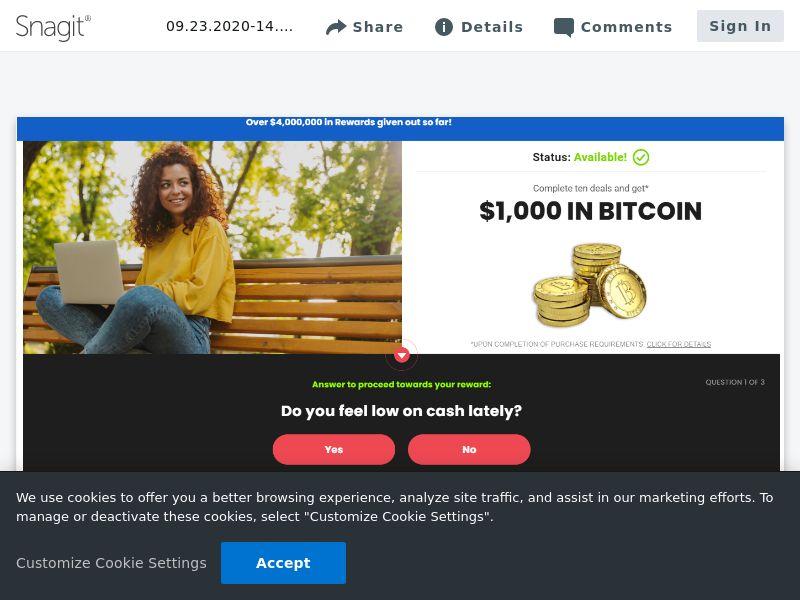 Bitcoin $1000 - SOI | US