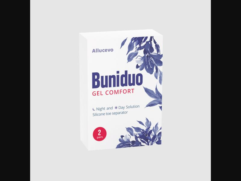 BUNIDUO GEL COMFORT – CZ – CPA – bunions – toe separator - COD / SS - new creative available