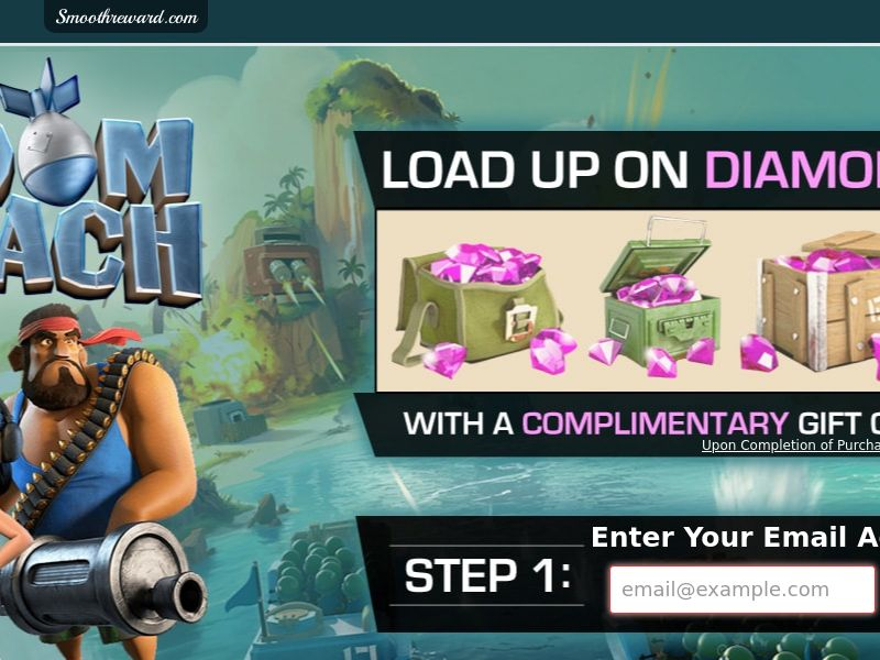 Boom Beach - Email Submit - Incent