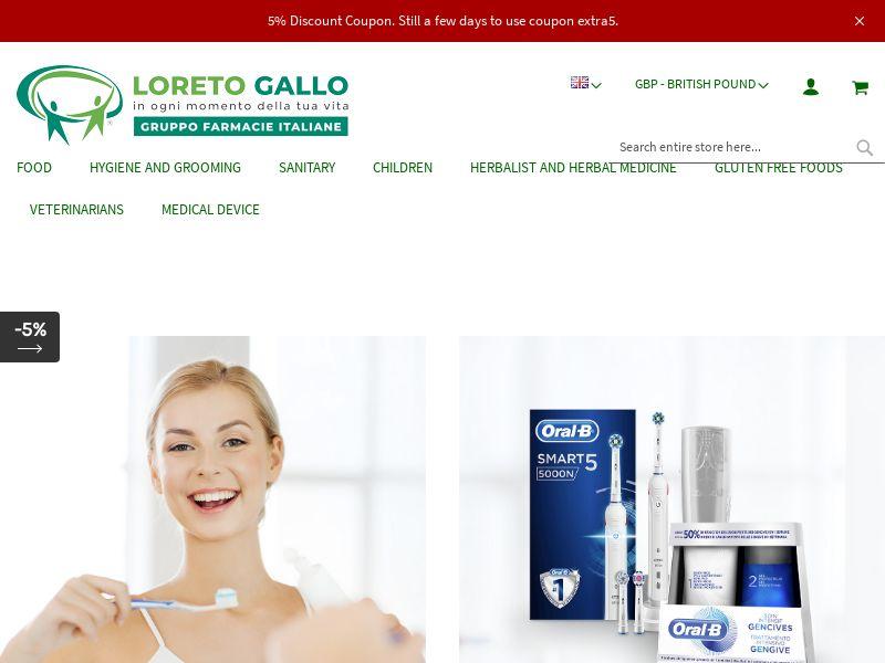 Loreto Gallo - FR, ES, DE, UK (FR,DE,ES,GB), [CPS]