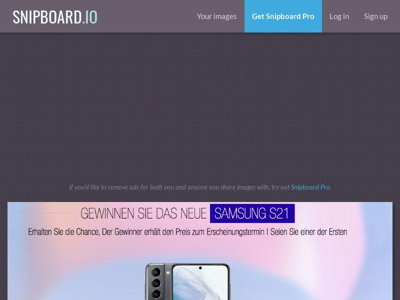 LeadsWinner - Samsung Galaxy S21 DE - SOI