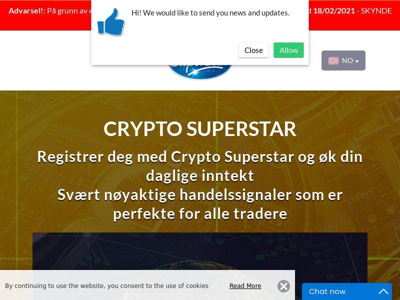 Crypto Superstar Norwegian 2091