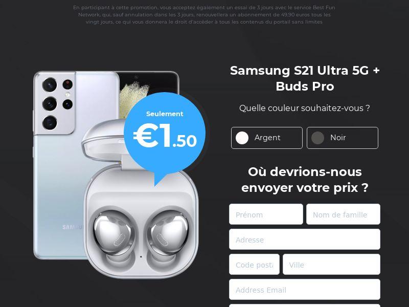 Samsung S21 Ultra 5G - DE (DE), [CPA]