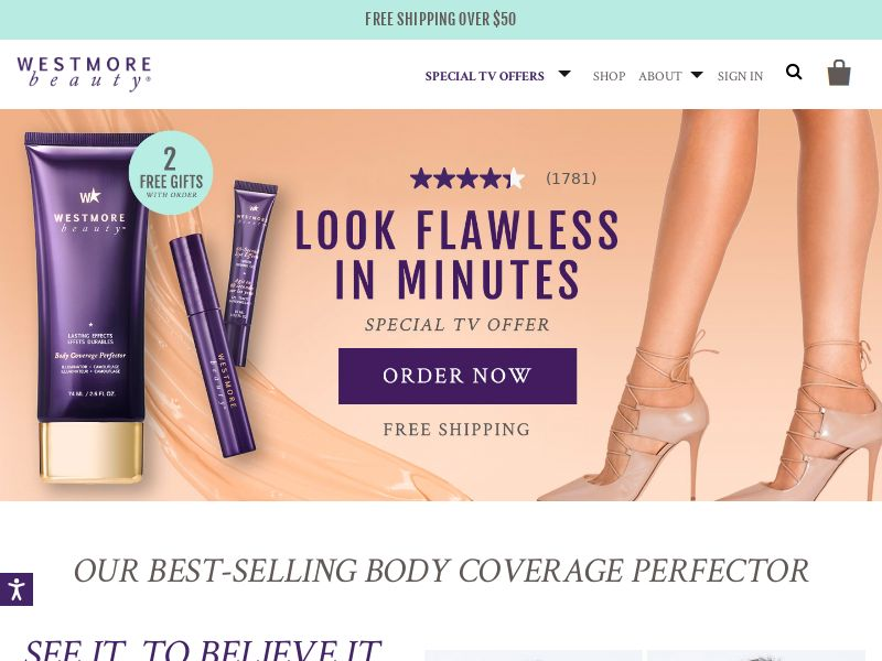 Westmore Beauty Kits - Email