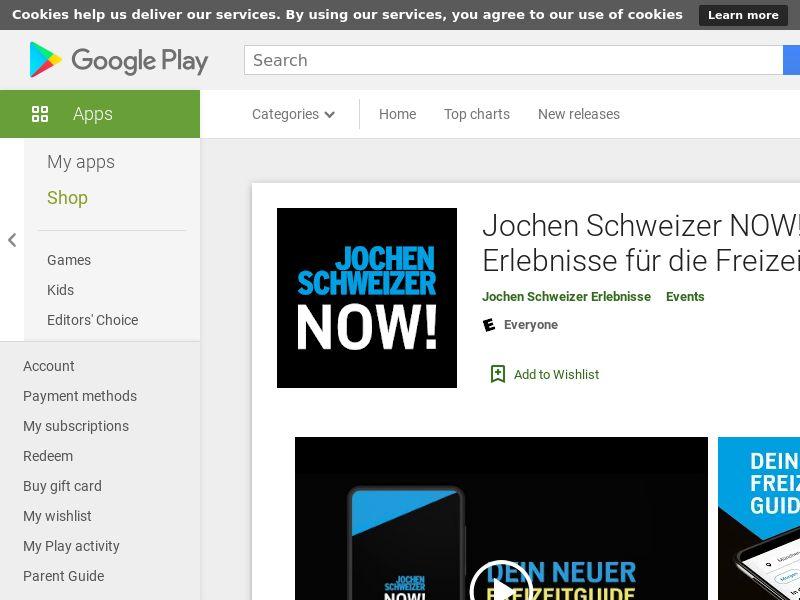 Jochen Schweizer NOW! Android DE (GAID)*Affilitest blocked*