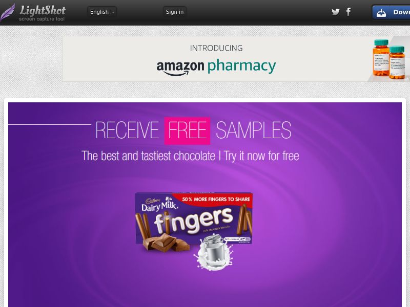 Portal Leads - Cadbury Fingers (UK) (CPL) (Personal Approval)