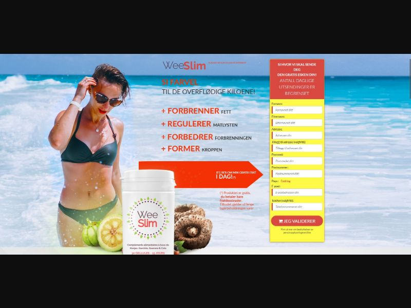 Wee Slim - Diet & Weight Loss - Trial - [NO]
