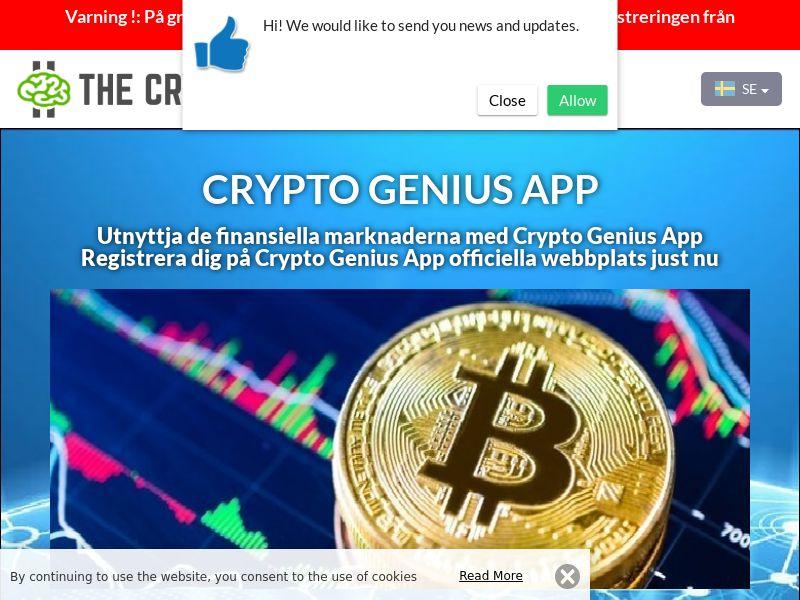 Crypto Genius App Swedish 2736