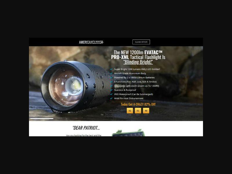 Evatac - Pro-XML Flashlight (US)