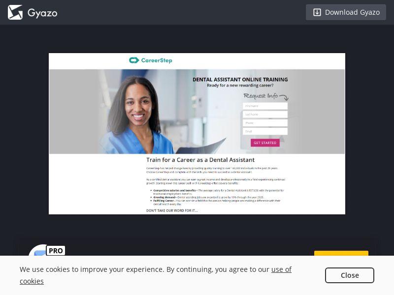 CareerStep Dental Assistant US | CPL