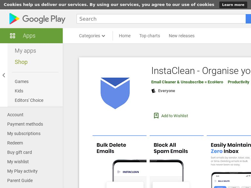 InstaClean - Android - AU NZ UK - CPR - Incent
