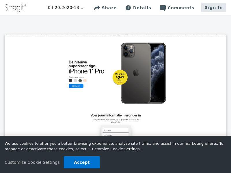 feelinglucky iPhone 11 Pro | NL