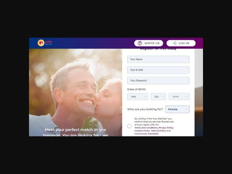 Sofiadate | Dating - All OS - SOI - Males 35+ (US,CA,AU,NZ,UK)