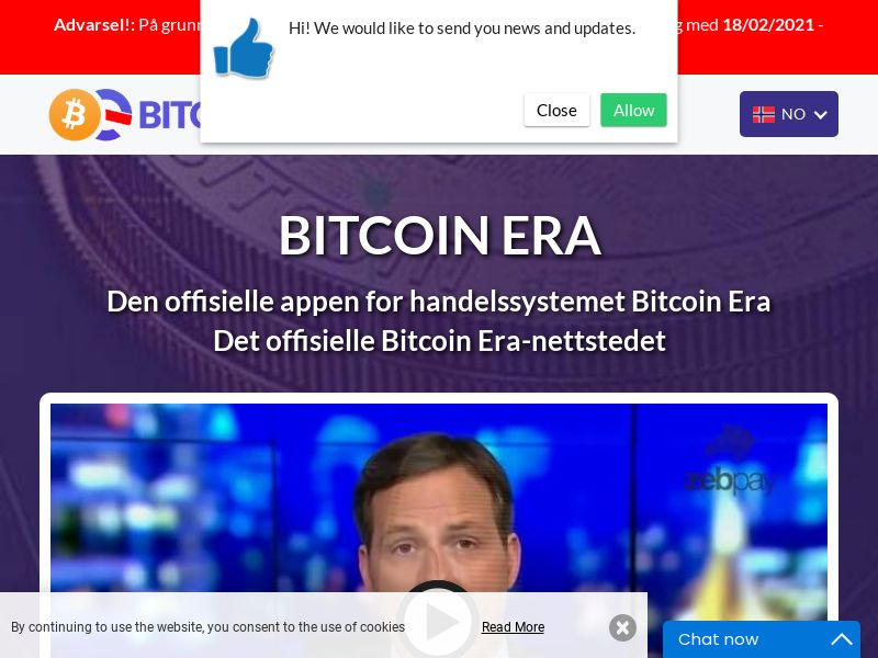 Bitcoin Era New Norwegian 919 - Smart Link