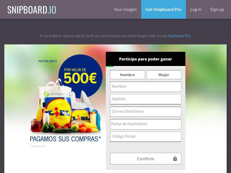 Vale 500€ Lidl! - ES