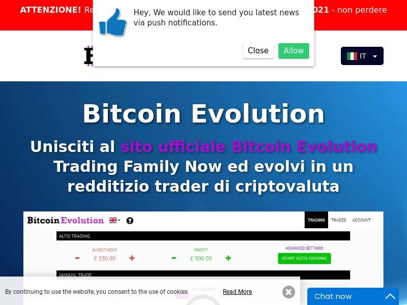 Bitcoin Evolution Pro - IT (IT), [CPA]