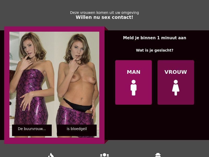 geheimcontact.com - DOI [WEB] | BE,NL