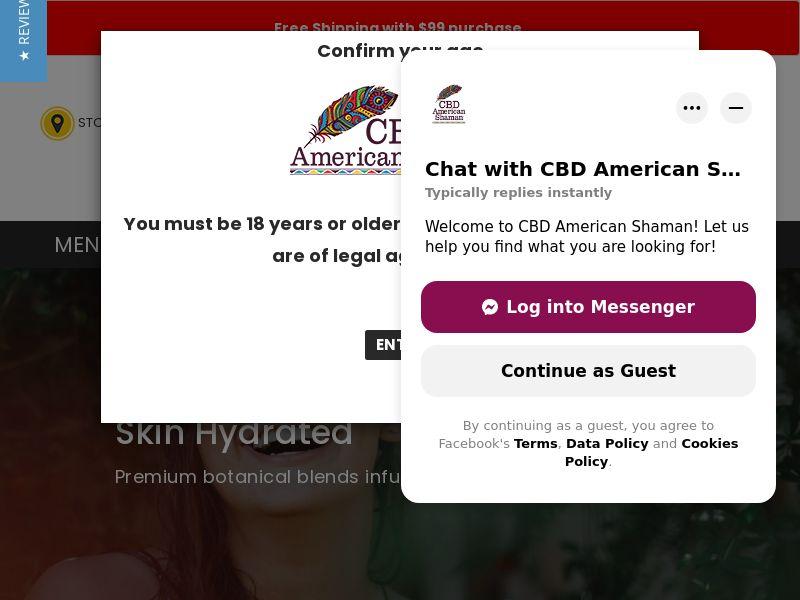 CBD American Shaman - CPA - US