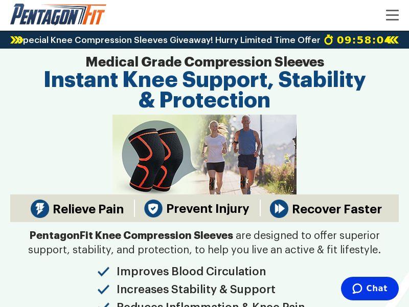PentagonFit Knee Sleeve (CPS) - INT