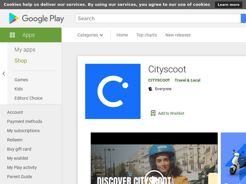 Cityscoot_Android_ES (city targeted: Barcelona) (CPI)