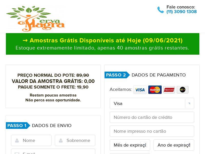 (14248) [WEB+WAP] Erva Magra - Amostra Gratis - BR - Trial