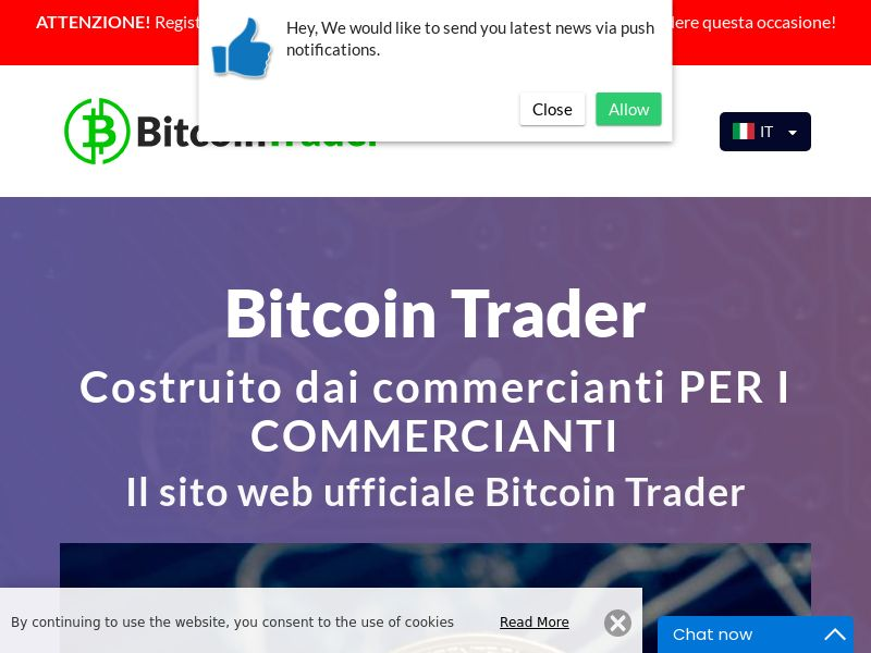 The Bitcoin Traders - IT (IT), [CPA]