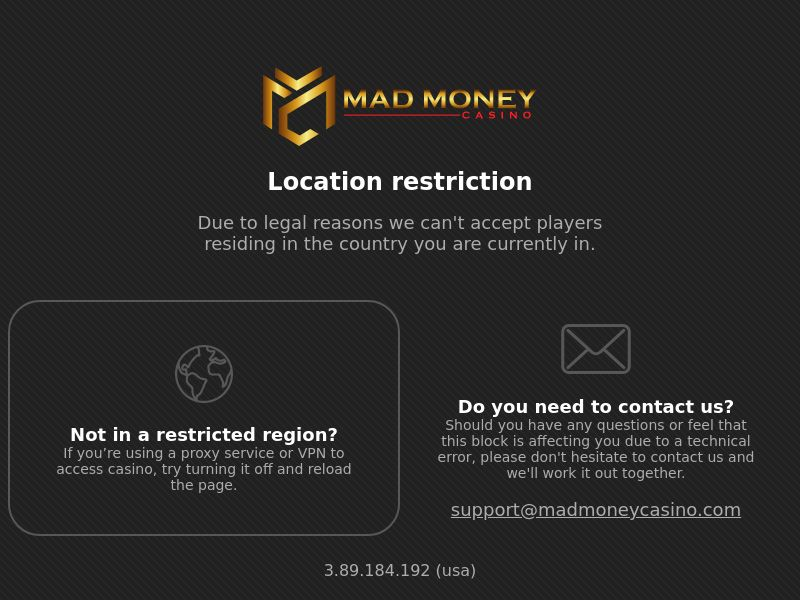 Madmoney casino CPA + RS 8 countries