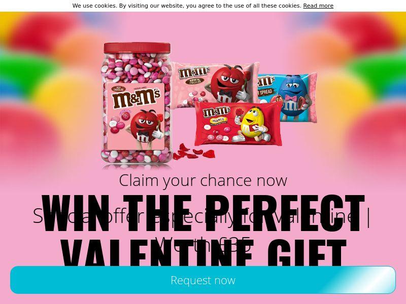 Valentine M&M pack! - UK