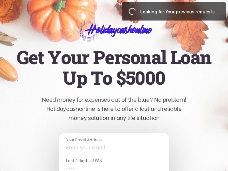 Holiday Cash Online