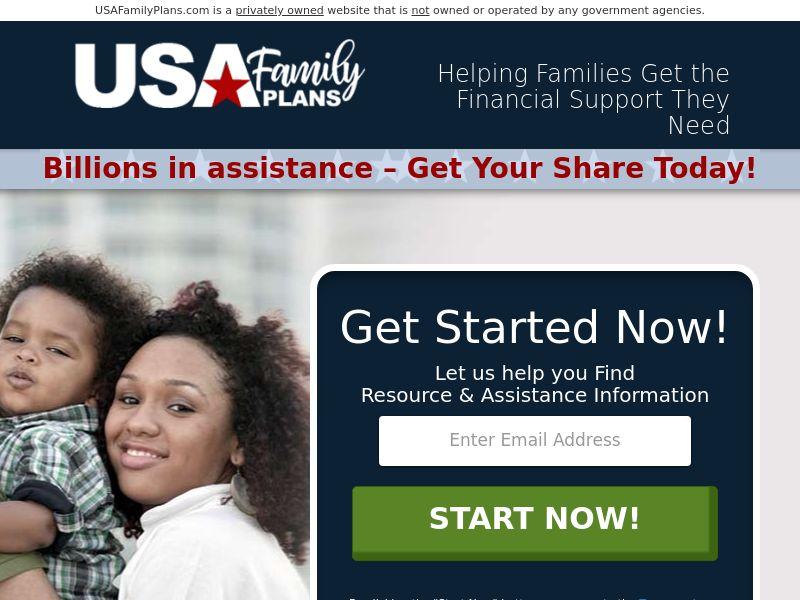 USA FAMILY plans