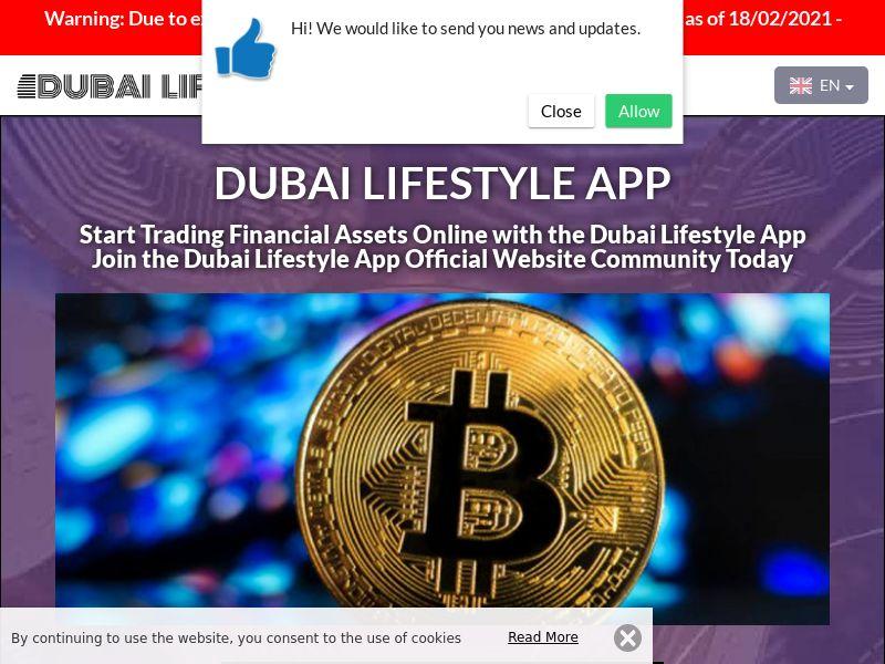 Dubai Lifestyle App English 2517
