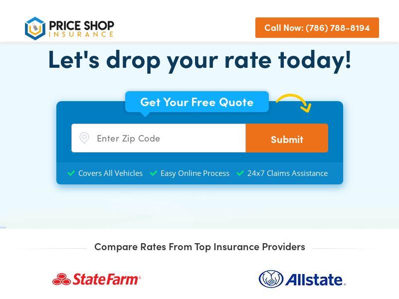 Price Shop Insurance - SOI - CPL - US
