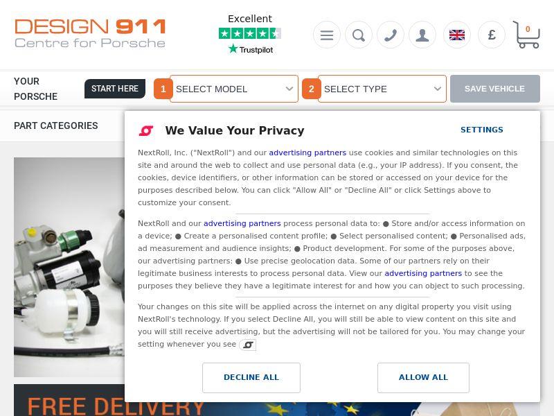 Design 911 - UK (GB), [CPS]