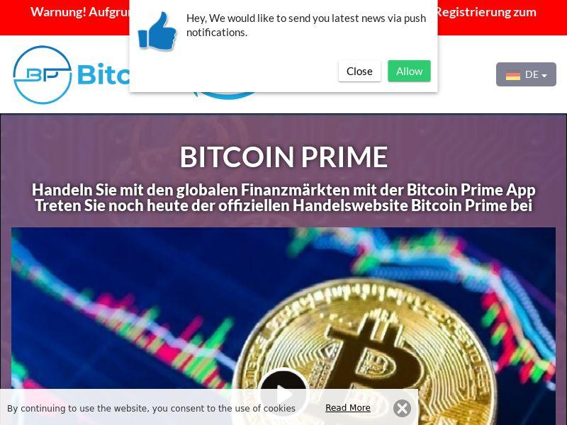 Bitcoin Prime German 2596