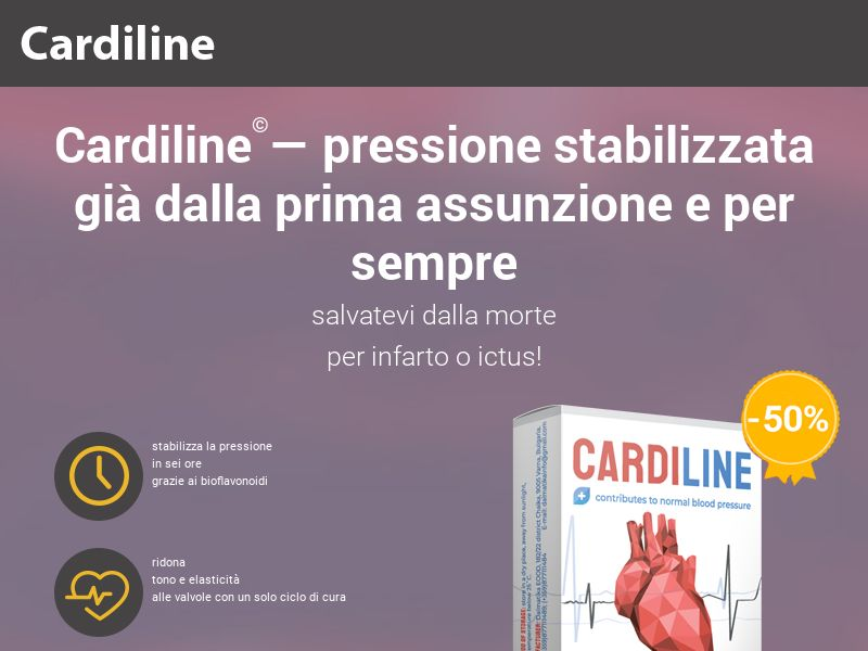 Cardiline IT - pressure stabilizing product