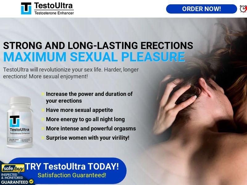 TestoUltra English w/ Magnumax Upsell [Intl, read description] (Native, PPC, Social, Search) - CPA