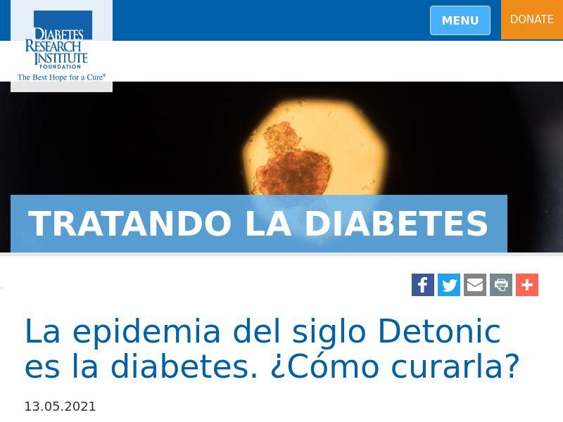 Detonic CO (diabetes)