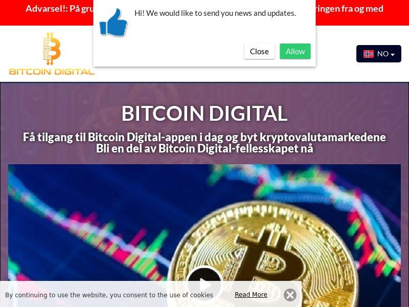 Bitcoin Digital Norwegian 4077