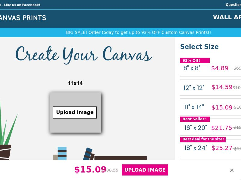 Easy Canvas - 86% Off (up to 93%) - US